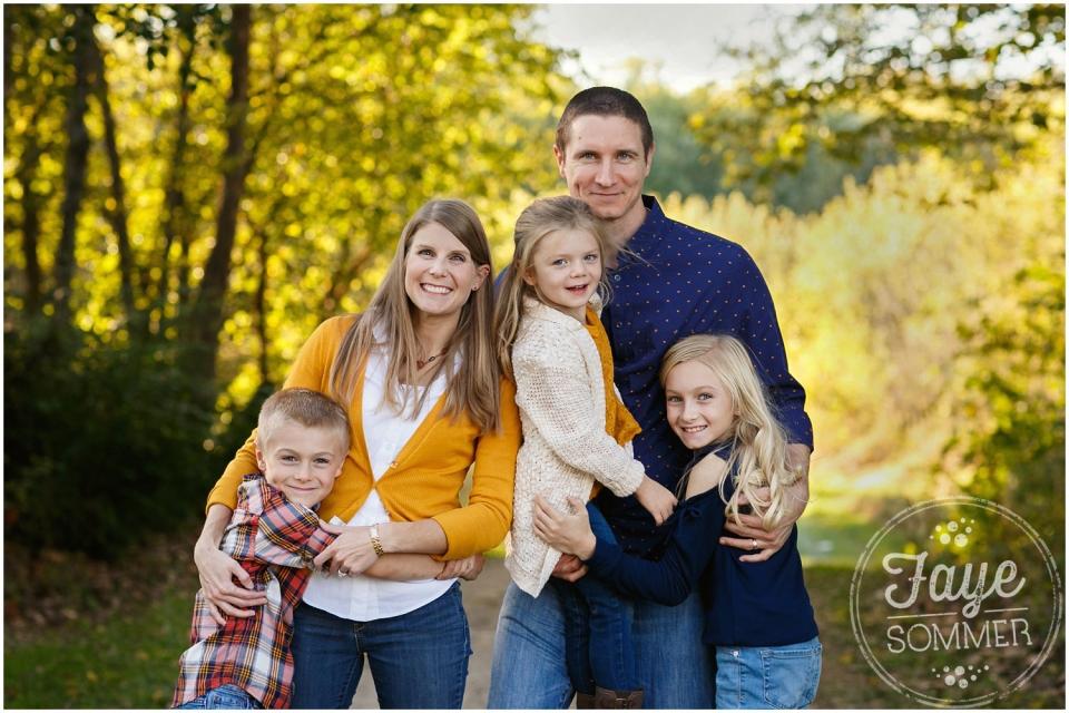 classic family portrait in tipp city ohio
