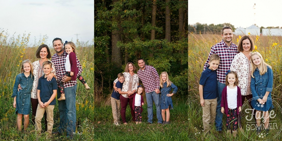 tipp city ohio fall family photography